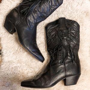 Black Laredo Tassel Cowgirl/Cowboy Boots 🖤